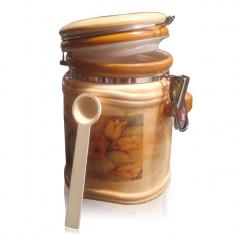Borcan ceramica ermetic Tulip 1.5 litri - Inlocuitor de cafea