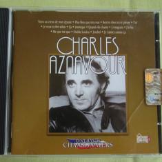 CHARLES AZNAVOUR - Les Grands Chansonniers - C D Original ca NOU