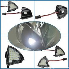 Lampa LED OGLINDA lumina exterioara SUB OGLINZI VW AL-030417-2 - Lumini interior auto, Volkswagen