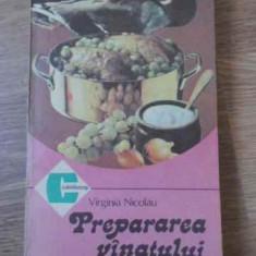 Prepararea Vanatului - V. Nicolau, 395632 - Carte Retete culinare internationale
