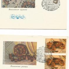 (No3) FDC URSS -1979 --TESATURI POPULARE