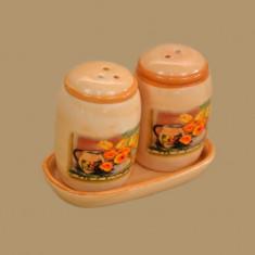 Set solnite ceramice sare si piper Tulip 285158 - Marturii nunta