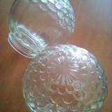 Abajururi tip glob de sticla cu filet