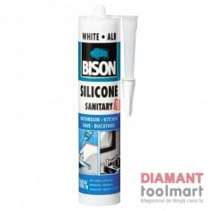 SILICON SANITAR 280 ml ALB BISON // 423005/1591319