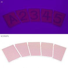 Set carti marcate si lentile IR