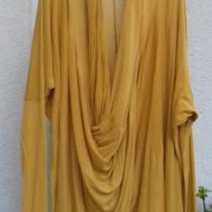 Bluza galbena H&M talie unica+maieu cadou - Bluza dama H&m, Maneca lunga, Casual, Bumbac