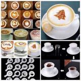 Set 16 Sabloane, Creative pentru Cappuccino, Cafea & Prajituri