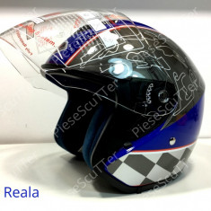 Casca Moto Scuter - ATV De Vara Open Face ( S - 55- 56cm ), Marime: S