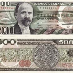 MEXIC 500 pesos 1984 UNC!!!