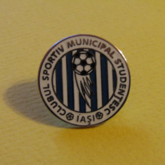 Insigna fotbal CSMS IASI
