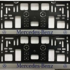 Suport Numar Personalizate MERCEDES SET 2 BUC. AL-TCT-263 - Suport numar Auto