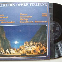 Disc vinil CORURI DIN OPERE ITALIENE (ST - ECE 01553) - Muzica Opera electrecord
