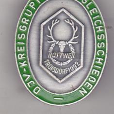 Bnk ins Germania - Insigna vanatoare 1992 - DJV - Der Deutsche Jagdverband, Europa