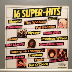 16 SUPER HITS - Various Artists (1983/MILAN REC/RFG) - Vinil/Vinyl/Impecabil(NM) - Muzica Pop ariola