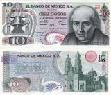 MEXIC 10 pesos 1975 UNC!!!