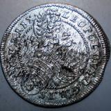 G.331 UNGARIA LEOPOLD I 3 KRAJCZAR 1698 CH ARGINT 1, 88g/21, 5mm - Moneda Medievala, Europa