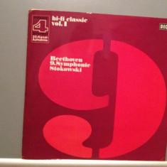 BEETHOVEN - SYMPHONY no 9 -London Symph. Orchestra (1969/Decca/RFG) - VINIL - Muzica Clasica decca classics