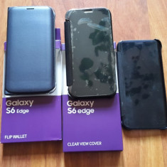 Samsung galaxy s6 edge 64 gb black sapphire - Telefon Samsung, Negru, Neblocat