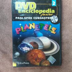 Enciclopedia Junior: Pasi spre cunoastere. nr.2: Planetele (DVD) - Film documentare, Romana