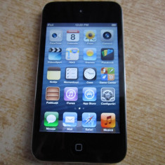 iPod Touch Apple 4TH GENERATION 16 GB PERFECT FUNCTIONAL, Negru