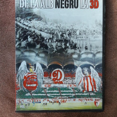 DE LA ALB NEGRU LA 3D - DVD fotbal