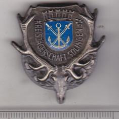 bnk ins Germania - Insigna vanatoare - Solingen