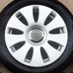 Jante aliaj 16 Audi A3, A4, A6 - originale - 5x112 - Janta aliaj Audi, Latime janta: 7, Numar prezoane: 5