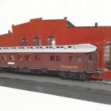 Vagon calatori marca piko scara ho - Macheta Feroviara Alta, 1:87, Vagoane