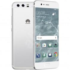Smartphone Huawei P10 , Dual Sim , 5.1 Inch IPS , Octa Core , 4 GB RAM , 64 GB , Retea 4G , Android Nougat , Silver, 64GB, Neblocat