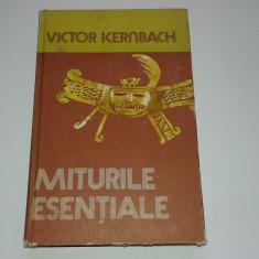 VICTOR KERNBACH - MITURILE ESENTIALE - Carte mitologie
