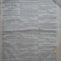Principatele Unite , Monitorul oficial al Moldovei , Iasi , nr. 331 , 1861
