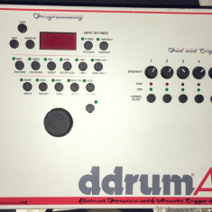 Electronic Percussion with Acoustic Trigger Interface DDRUM AT Altele