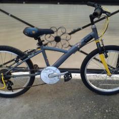 "B'twin Decathlon Creation / bicicleta copii 20"" (7-12 ani), 6"