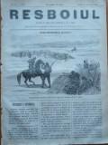Ziarul Resboiul , nr. 77 , 1877 , gravura , Corespondent Daily News , spion turc