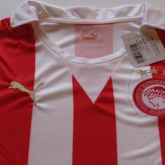 Tricou nou - fotbal PUMA - OLYMPIACOS PIREU (produs oficial) - Tricou echipa fotbal, Marime: M, Culoare: Din imagine