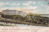 SALUTARI DIN TURNU SEVERIN  LICEUL TRAIAN CU PARCUL BOTANIC CLASICA  CIRC. 1903, Necirculata, Printata