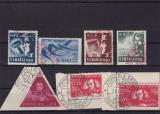 ROMANIA 1948, LP 230 , LP 247 , UTM  SI BALCESCU SERII STAMPILATE, Stampilat