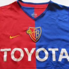Tricou fotbal FC BASEL - nr. 13 jucatorul Christian GIMENEZ cu autograf - Tricou echipa fotbal, Marime: XS, Culoare: Din imagine