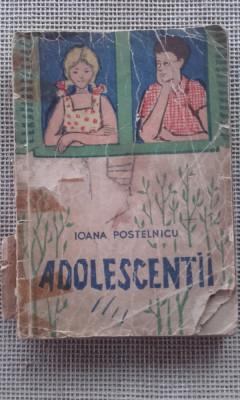 Adolescentii - Ioana Postelnicu foto