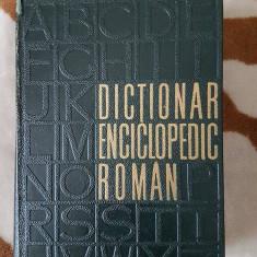 DICTIONAR ENCICLOPEDIC ROMAN (4 VOL) - Enciclopedie