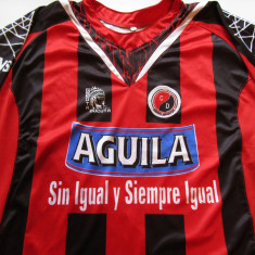 Tricou (f. rar) fotbal CUCUTA DEPORTIVO (Columbia - liga a 2-a) - Tricou echipa fotbal, Marime: M, Culoare: Din imagine