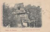 SALUTARI DIN ROMANIA  TURNU SEVERIN  RUINELE PODULUI TRAIAN  CLASICA  1903, Necirculata, Printata
