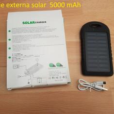 Baterie externa solar 5000 mAh