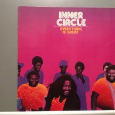 INNER CIRCLE - EVERYTHING IS GREAT (1980/ISLAND/RFG) - Vinil/Vinyl/Impecabil - Muzica Reggae