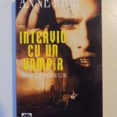INTERVIU CU UN VAMPIR , CRONICILE VAMPIRILOR de ANNE RICE , 1995