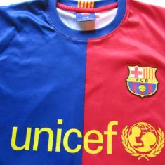 Tricou fotbal FC BARCELONA nr.10 Messi - Tricou echipa fotbal, Marime: S, Culoare: Din imagine