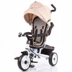 Tricicleta 1-5 Ani Chipolino Sportico Beige - Tricicleta copii
