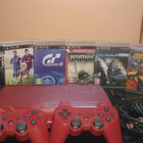 PlayStation 3 Sony superslim 500gb nemodat 2 controllere