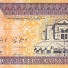 Bancnota Republica Dominicana 50 Pesos Dominicanos 2012 - P183c UNC - bancnota america
