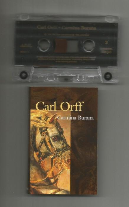 A(01) Caseta audio- Cari Orff-CARMINA BURANA